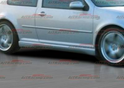 Golf - Side Skirts - AIT Racing - Volkswagen Golf AIT Racing Corsa Style Side Skirts - VWG98HICORSS
