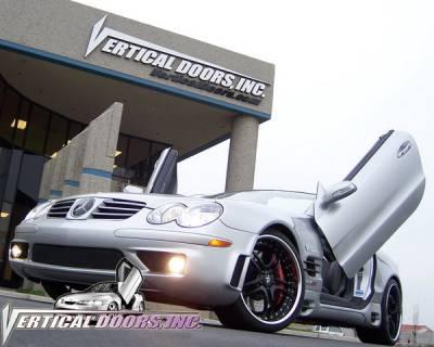 R Class - Vertical Door Kit - Vertical Doors Inc - Mercedes R Class Vertical Doors Inc Vertical Lambo Door Kit - VDCMS0310