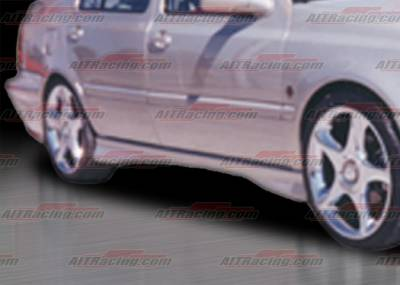 Jetta - Side Skirts - AIT Racing - Volkswagen Jetta AIT Racing Corsa Style Side Skirts - VWJ93HICORFB