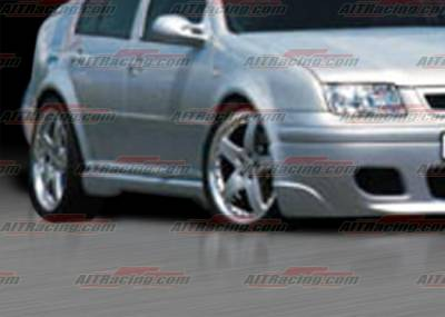 Jetta - Side Skirts - AIT Racing - Volkswagen Jetta AIT Racing Corsa Style Side Skirts - VWJ98HICORSS