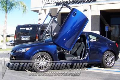 TC - Vertical Door Kit - Vertical Doors Inc - Scion tC Vertical Doors Inc Vertical Lambo Door Kit - VDCST1111