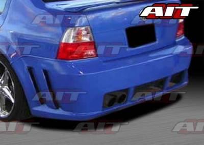 Jetta - Rear Bumper - AIT Racing - Volkswagen Jetta AIT GTR Style Rear Bumper - VWJ99HIGTRRB