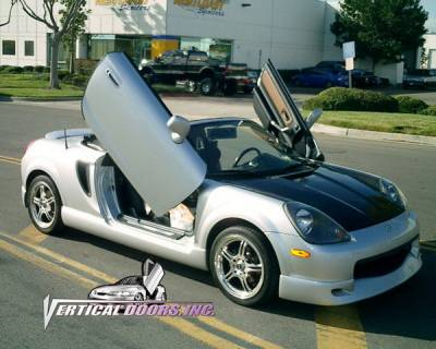 MR2 - Vertical Door Kit - Vertical Doors Inc - Toyota MR2 Vertical Doors Inc Vertical Lambo Door Kit - VDCTM8999