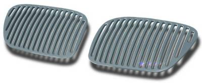 Grilles - Custom Fit Grilles - APS - BMW X5 APS CNC Grille - Upper - Aluminum - W95502V