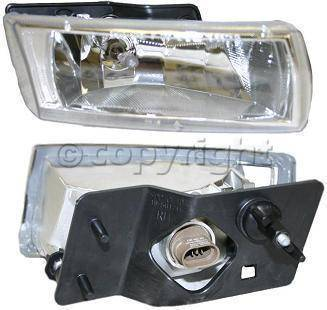 Headlights & Tail Lights - Fog Lights - Custom - Diamond Clear Fog Lights Passanger Side