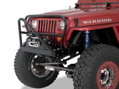Suv Truck Accessories - Winches Winch Kits - Warrior - Jeep Wrangler Warrior Stinger Winch Mount - 59020
