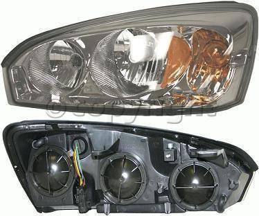Headlights & Tail Lights - Headlights - Custom - Clear Lense Headlights Amber Driver Side