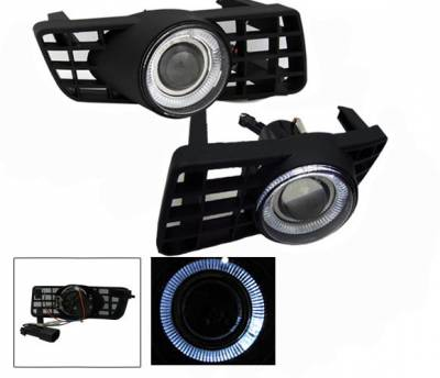 Headlights & Tail Lights - Fog Lights - 4CarOption - Ford Expedition 4CarOption Halo Projector Fog Lights - XT-FGPR-EXPD-0306
