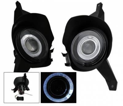 Headlights & Tail Lights - Fog Lights - 4CarOption - Ford Explorer 4CarOption Projector Fog Lights - XT-FGPR-EXPL-0104SP