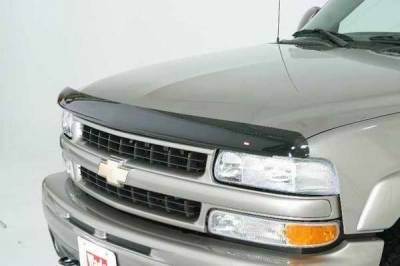 Accessories - Wind Deflectors - Wade - Wade Smoke OEM Bugshield - Center Only - 24120