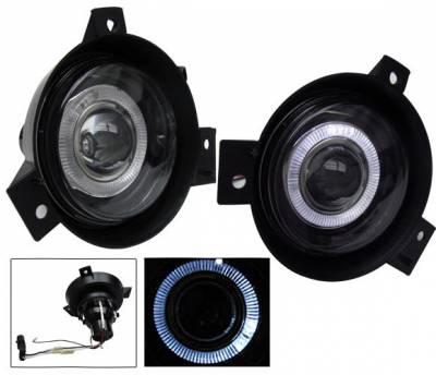 Headlights & Tail Lights - Fog Lights - 4CarOption - Ford Ranger 4CarOption Halo Projector Fog Lights - XT-FGPR-RNG-0104