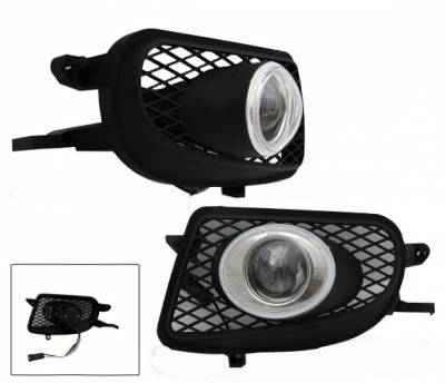Headlights & Tail Lights - Fog Lights - 4CarOption - Mercedes C Class 4CarOption Projector Fog Lights - XT-FGP-W210-0002-9