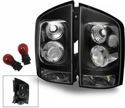 Headlights & Tail Lights - Led Tail Lights - 4CarOption - Nissan Armada 4CarOption Altezza Taillights - XT-TLBK-AMD0406-6