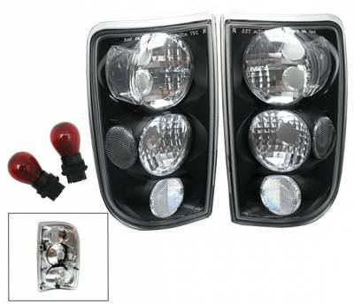 Headlights & Tail Lights - Led Tail Lights - 4CarOption - Oldsmobile Bravada 4CarOption Taillights - XT-TLBK-BLZ9504-6