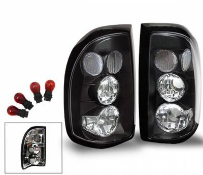 Headlights & Tail Lights - Led Tail Lights - 4CarOption - Dodge Dakota 4CarOption Altezza Taillights - XT-TLBK-DKT9704-6