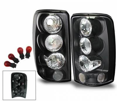 Headlights & Tail Lights - Led Tail Lights - 4CarOption - Chevrolet Tahoe 4CarOption Altezza Taillights - XT-TLBK-DNL0103-6