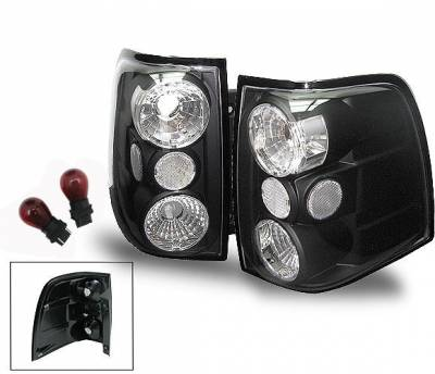 Headlights & Tail Lights - Led Tail Lights - 4CarOption - Ford Expedition 4CarOption Altezza Taillights - XT-TLBK-EXPD0304-6