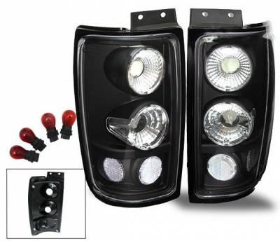 Headlights & Tail Lights - Led Tail Lights - 4CarOption - Ford Expedition 4CarOption Altezza Taillights - XT-TLBK-EXPD9702-6