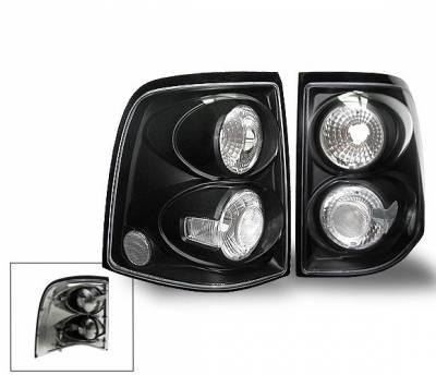Headlights & Tail Lights - Led Tail Lights - 4CarOption - Ford Explorer 4CarOption Altezza Taillights - XT-TLBK-EXPL0204-6