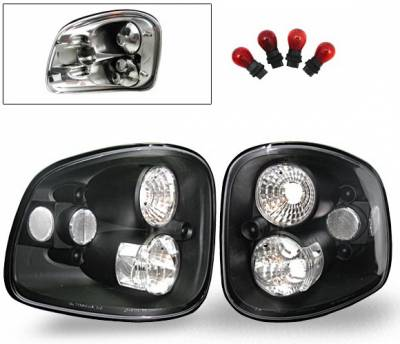 Headlights & Tail Lights - Led Tail Lights - 4CarOption - Ford F150 4CarOption Altezza Taillights - XT-TLBK-F1509700F3-6