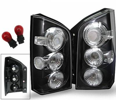 Headlights & Tail Lights - Led Tail Lights - 4CarOption - Nissan Pathfinder 4CarOption Altezza Taillights - XT-TLBK-PTFR0506-6