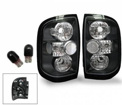 Headlights & Tail Lights - Led Tail Lights - 4CarOption - Nissan Pathfinder 4CarOption Altezza Taillights - XT-TLBK-PTFR9698-6