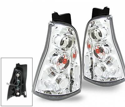 Headlights & Tail Lights - Led Tail Lights - 4CarOption - Toyota 4 Runner 4CarOption Altezza Taillights - XT-TLC-4RNR0305-6