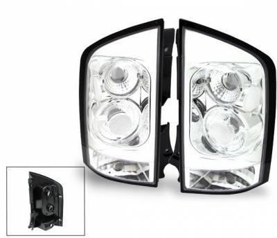 Headlights & Tail Lights - Led Tail Lights - 4CarOption - Nissan Armada 4CarOption Altezza Taillights - XT-TLC-AMD0406-6