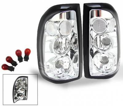 Headlights & Tail Lights - Led Tail Lights - 4CarOption - Dodge Dakota 4CarOption Altezza Taillights - XT-TLC-DKT9704-6