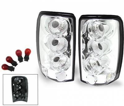 Headlights & Tail Lights - Led Tail Lights - 4CarOption - Chevrolet Tahoe 4CarOption Altezza Taillights - XT-TLC-DNL0003-6
