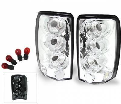 Headlights & Tail Lights - Led Tail Lights - 4CarOption - GMC Yukon 4CarOption Altezza Taillights - XT-TLC-DNL0003-6