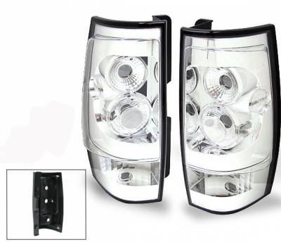 Headlights & Tail Lights - Led Tail Lights - 4CarOption - Chevrolet Tahoe 4CarOption Taillights - XT-TLC-DNL0708-6