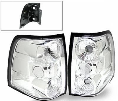 Headlights & Tail Lights - Led Tail Lights - 4CarOption - Ford Expedition 4CarOption Altezza Taillights - XT-TLC-EXPD0304-6