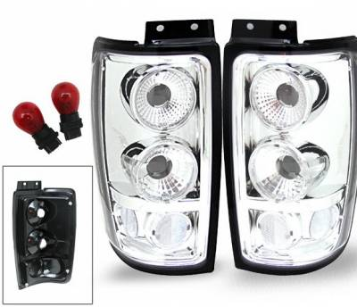 Headlights & Tail Lights - Led Tail Lights - 4CarOption - Ford Expedition 4CarOption Altezza Taillights - XT-TLC-EXPD9702-6