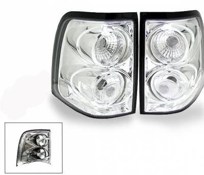 Headlights & Tail Lights - Led Tail Lights - 4CarOption - Ford Explorer 4CarOption Altezza Taillights - XT-TLC-EXPL0204-6