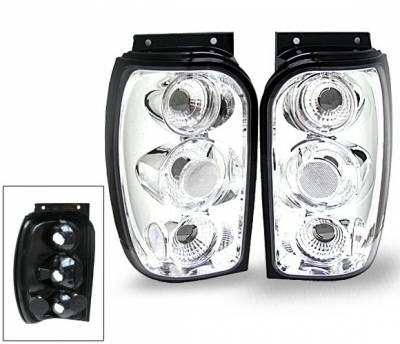 Headlights & Tail Lights - Led Tail Lights - 4CarOption - Mercury Mountaineer 4CarOption Altezza Taillights - XT-TLC-EXPL9801-6
