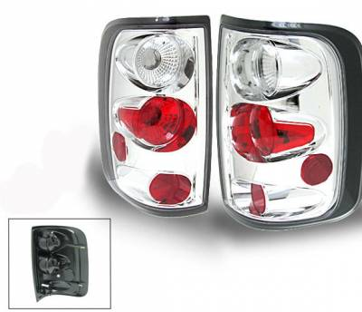Headlights & Tail Lights - Led Tail Lights - 4CarOption - Ford F150 4CarOption Altezza Taillights - XT-TLC-F1500304FE-6