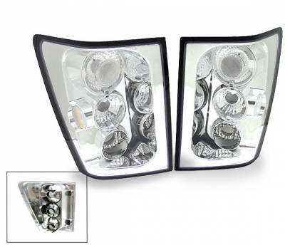 Headlights & Tail Lights - Led Tail Lights - 4CarOption - Jeep Grand Cherokee 4CarOption Altezza Taillights - XT-TLC-GCRK0405-6