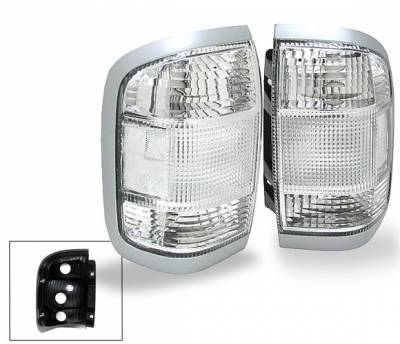 Headlights & Tail Lights - Led Tail Lights - 4CarOption - Nissan Pathfinder 4CarOption Altezza Taillights - XT-TLC-PFDR9604-2