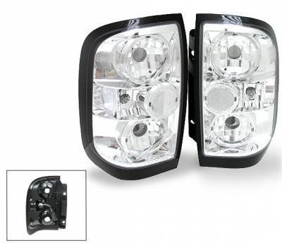 Headlights & Tail Lights - Led Tail Lights - 4CarOption - Nissan Pathfinder 4CarOption Altezza Taillights - XT-TLC-PTFR9698-6