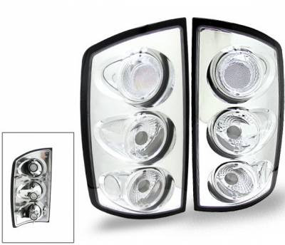 Headlights & Tail Lights - Led Tail Lights - 4CarOption - Dodge Ram 4CarOption Altezza Taillights - XT-TLC-RAM0204T5-6