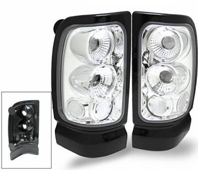 Headlights & Tail Lights - Led Tail Lights - 4CarOption - Dodge Ram 4CarOption Altezza Taillights - XT-TLC-RAM9401-6