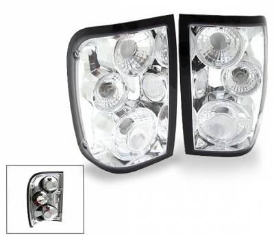 Headlights & Tail Lights - LED Tail Lights - 4CarOption - Ford Ranger 4CarOption Altezza Taillights - XT-TLC-RGR0104-6