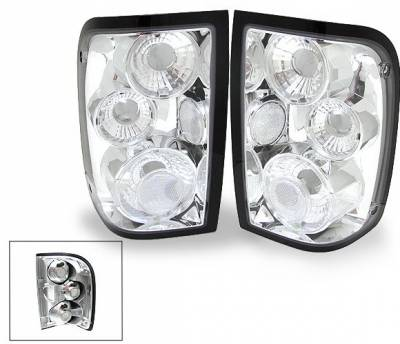 Headlights & Tail Lights - LED Tail Lights - 4CarOption - Ford Ranger 4CarOption Altezza Taillights - XT-TLC-RGR9301-6