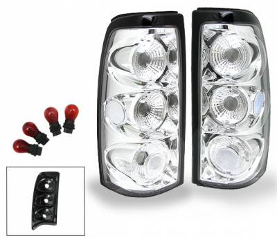 Headlights & Tail Lights - Led Tail Lights - 4CarOption - Chevrolet Silverado 4CarOption Altezza Taillights - XT-TLC-SLV9902-6