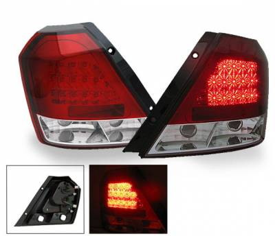 Headlights & Tail Lights - Led Tail Lights - 4CarOption - Chevrolet Aveo 4CarOption LED Taillights - XT-TLD-AVE050407RC-6