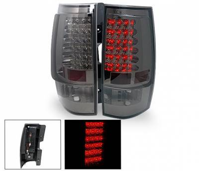 Headlights & Tail Lights - Led Tail Lights - 4CarOption - Chevrolet Tahoe 4CarOption LED Taillights - XT-TLD-DNL0708SM-6