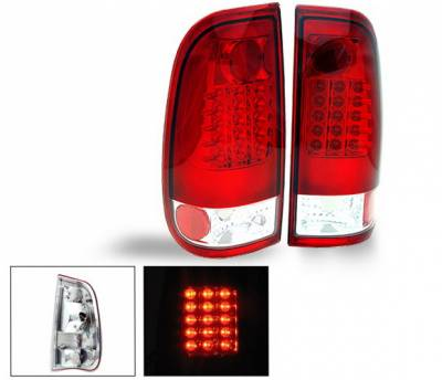 Headlights & Tail Lights - Led Tail Lights - 4CarOption - Ford F150 4CarOption LED Taillights - XT-TLD-F1509702RC-6