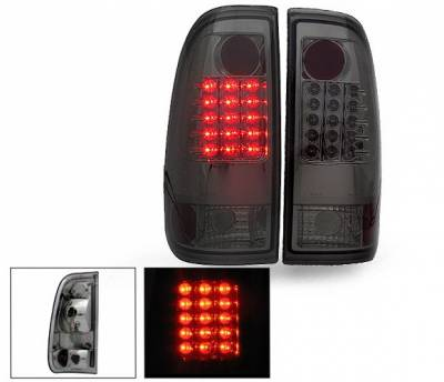 Headlights & Tail Lights - Led Tail Lights - 4CarOption - Ford F150 4CarOption LED Taillights - XT-TLD-F1509702SM-6