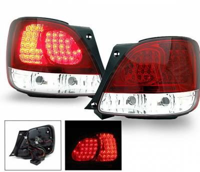 Headlights & Tail Lights - Led Tail Lights - 4CarOption - Lexus GS 4CarOption LED Taillights - XT-TLD-GS3009805RC-6
